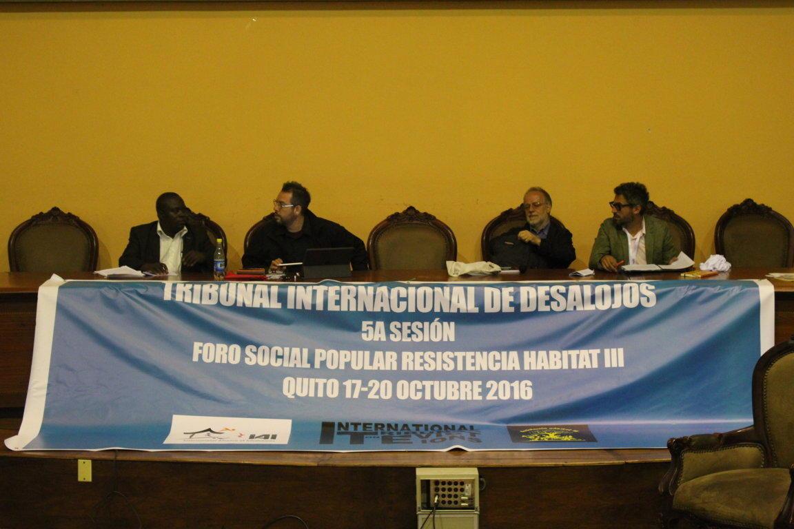 RECOMENDACIONES FINALES quinta sesión del Tribunal Internacional de ...
